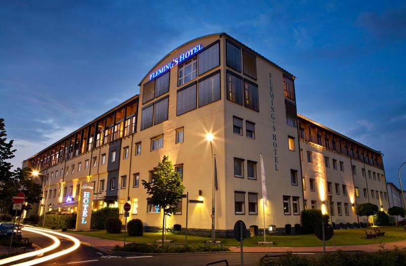 Außenansicht Fleming's Conference Hotel Frankfurt